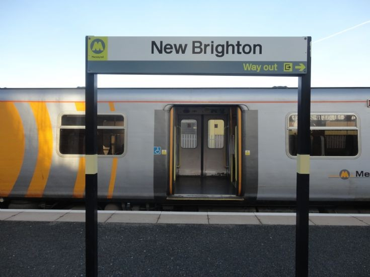 New Brighton station sign