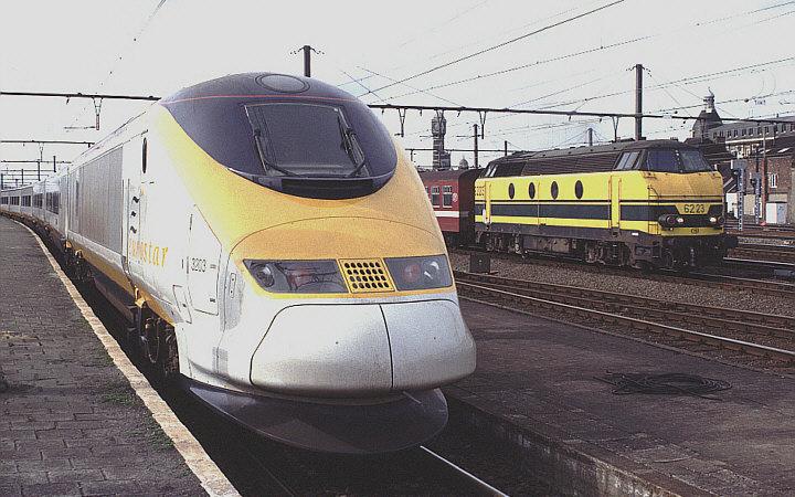 Eurostar 3203 + 3204