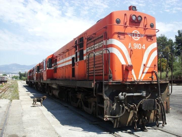 Hellenic Railways Alcos