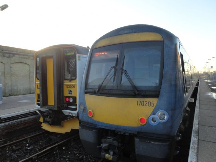Greater Anglia 153 306 & 170 205