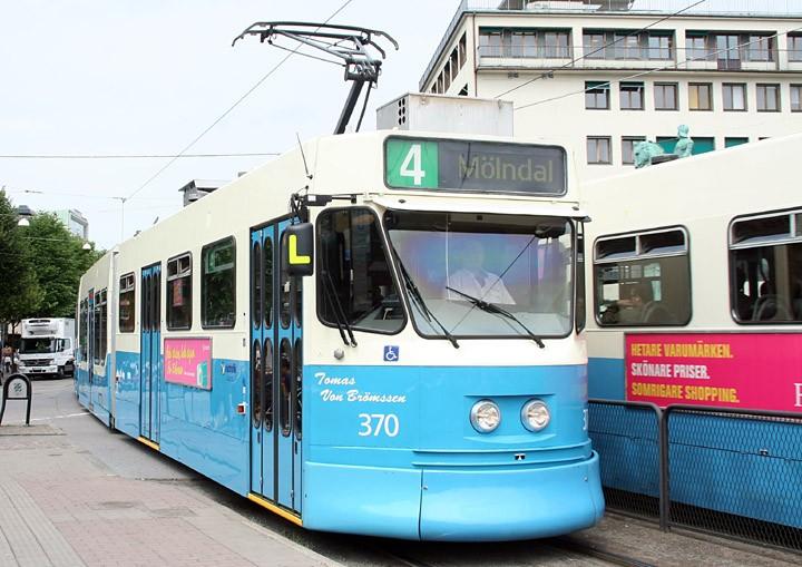 Gothenburg Tram Type M31 No. 370