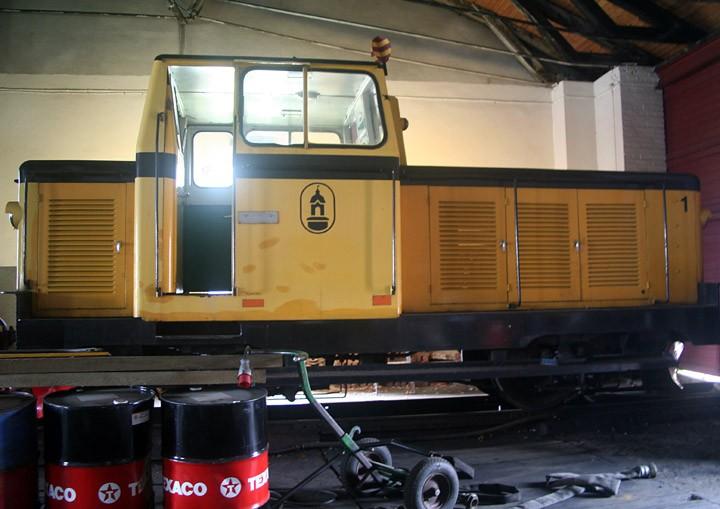 Katrinefors 1 in Skara locoshed, Sweden
