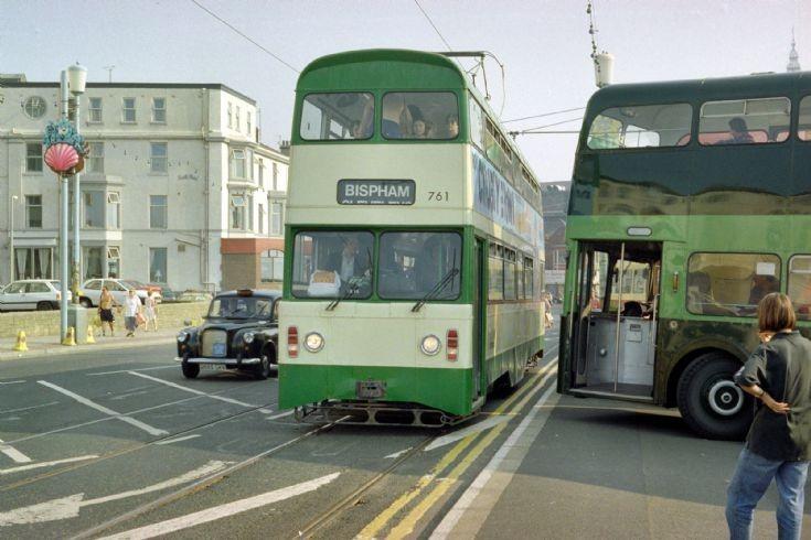 Blackpool Tram jubilee class no 761