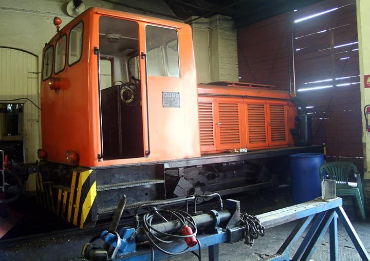 Arnold Jung type L14B (0-4-0) diesel shunter