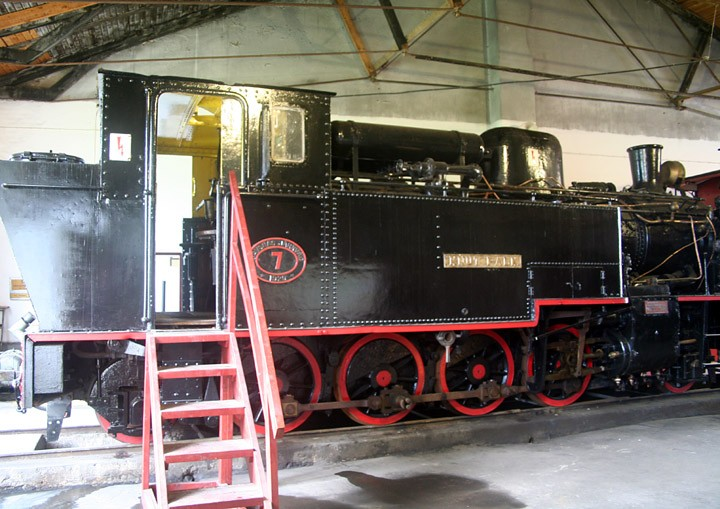 HFJ no. 7 2-8-2T  'Knut Falk'