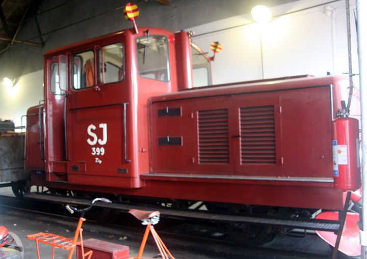 Statens Järnvägar type Z4p 0-4-0 no. 399