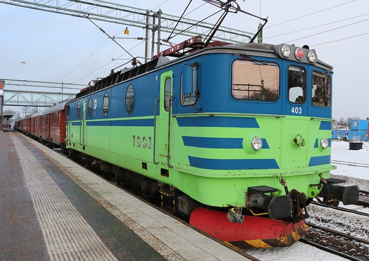TGOJ Ma 403 electric freight locomotive