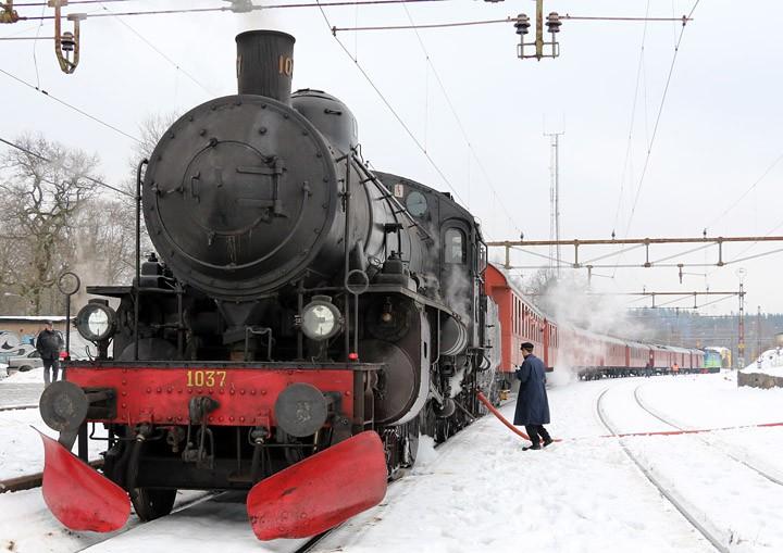 Västkustbanan Class B 4-6-0 no. 1037