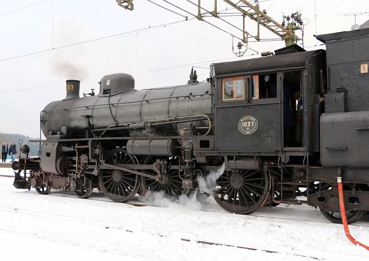 Västkustbanan Class B 4-6-0 no. 1037 - 2