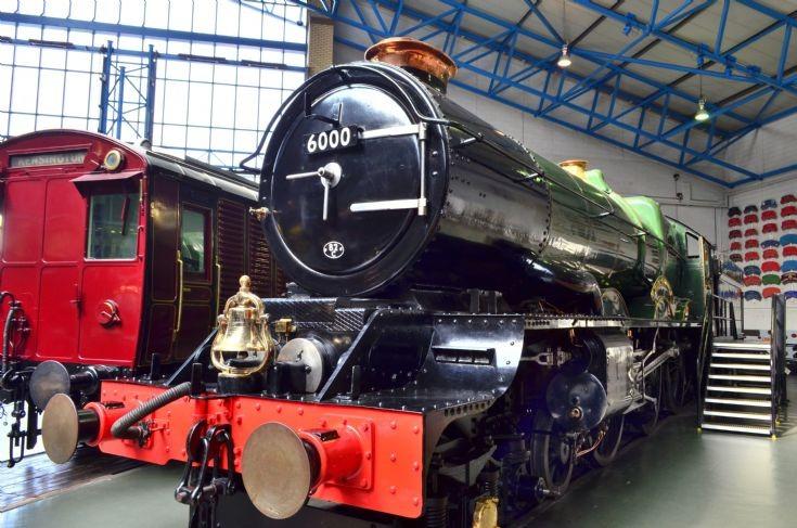 Railway museum, UK.