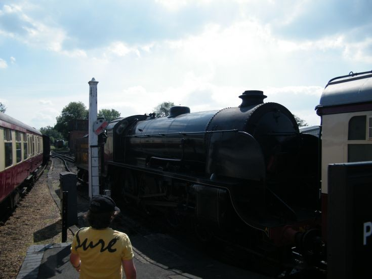 Day out at Bluebell Railway Summer 2014
