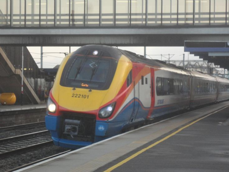 East Midlands Trains 222 101