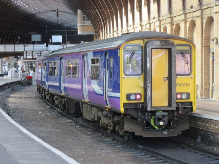 Northern Rail 150 210