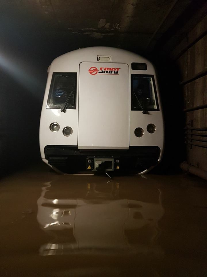 Kawasaki C151B - North South Line MRT flooding