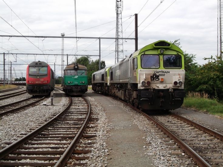 Captrain and (FRET) SNCF in Antwerp
