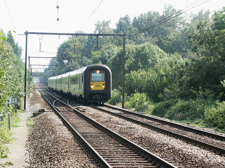 SNCB/NMBS 522 + 514
