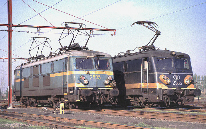 SNCB/NMBS 2505 + 2558
