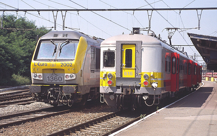 SNCB/NMBS 1360 + 616