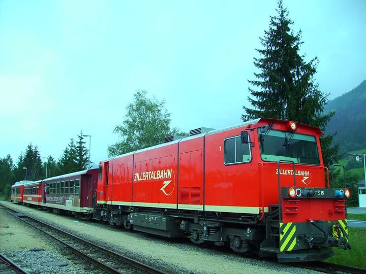 Zillertalbahn new Diesel locomotive