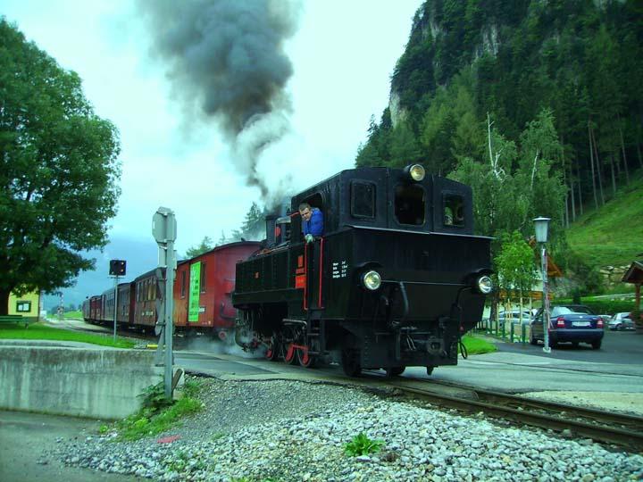 Zillertalbahn Steam locomotive Gerlos
