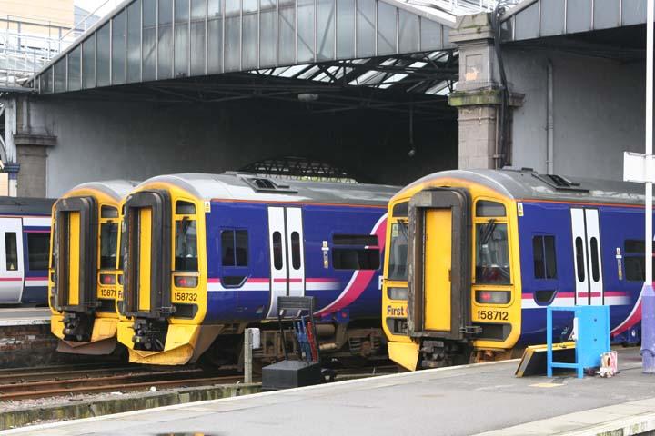First Scotrail Class 158 Express Sprinter