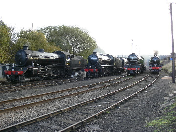 A great line up at Barrow Hill