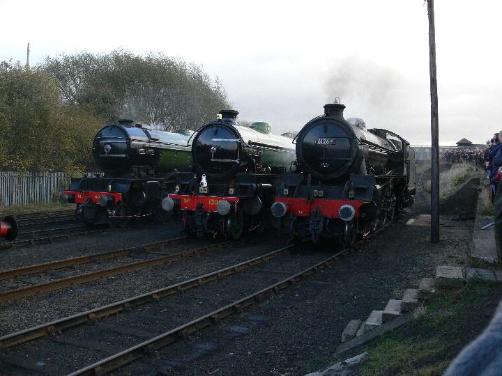 A V1 and 2 B1's at Barrowhill