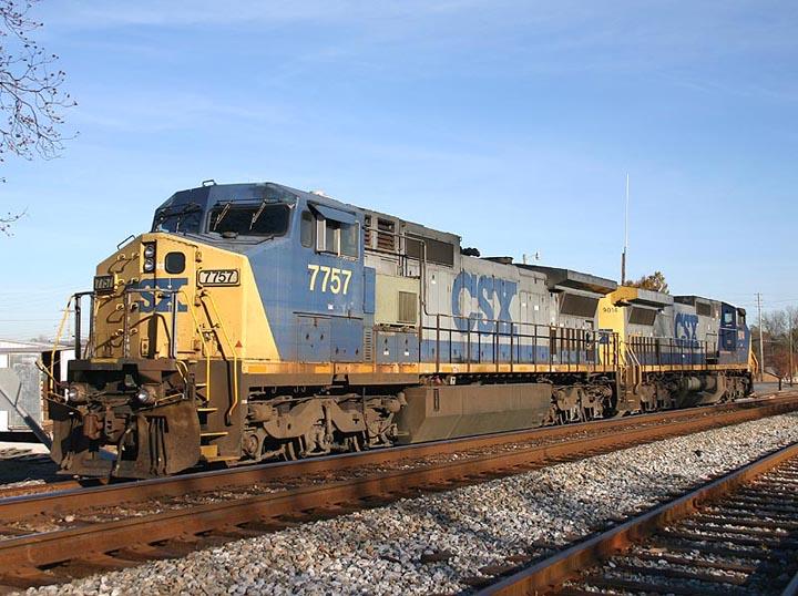 CSX 7757 Calhoun Georgia USA