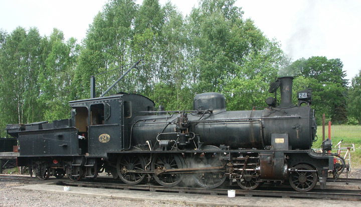 AGJ narrow gauge 4-6-0 No. 24