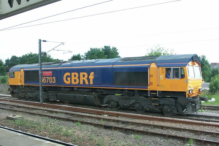 GBRf Class 66 66703