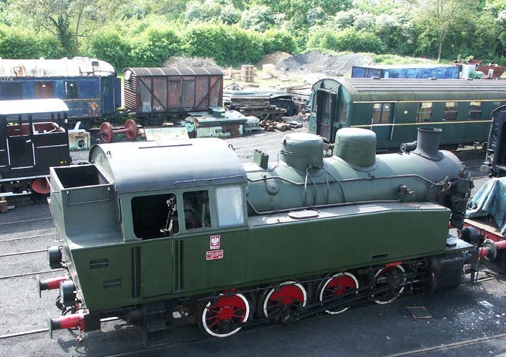 PKP (Polish State Railways) 0-8-0T 5485