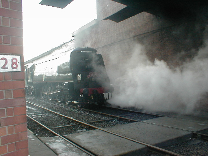 34067 Tangmere at Bury Bolton Street in 2003