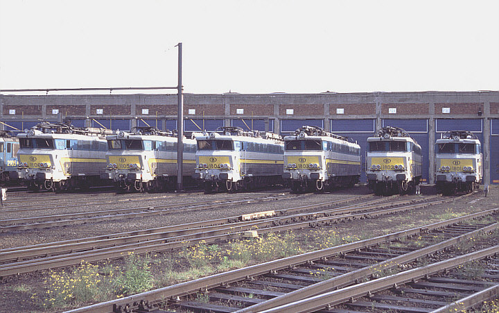 SNCB/NMBS 1806 + 1805 + 1804 + 1803 + 1802 + 1801