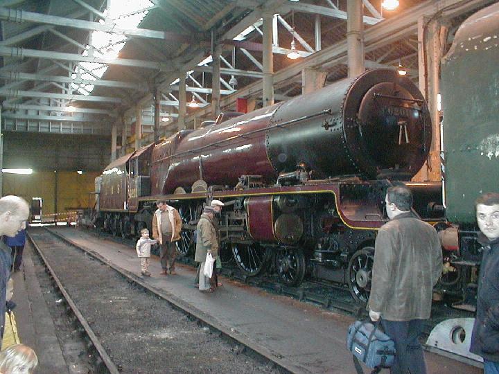(4)6201 being overhauled at Bury.