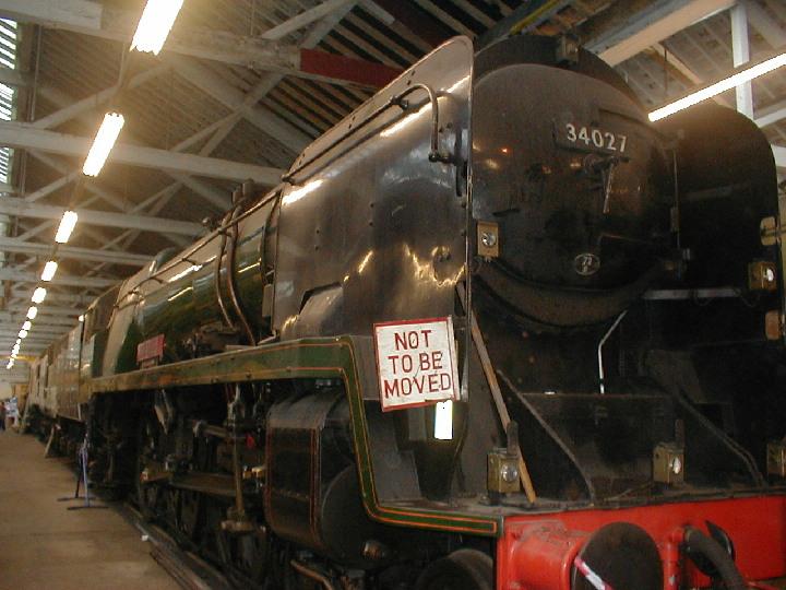 34027 Taw Valley at Bury