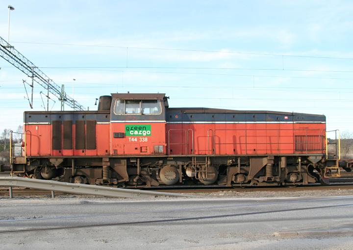 Class T44 shunter, Green Cargo no. 338