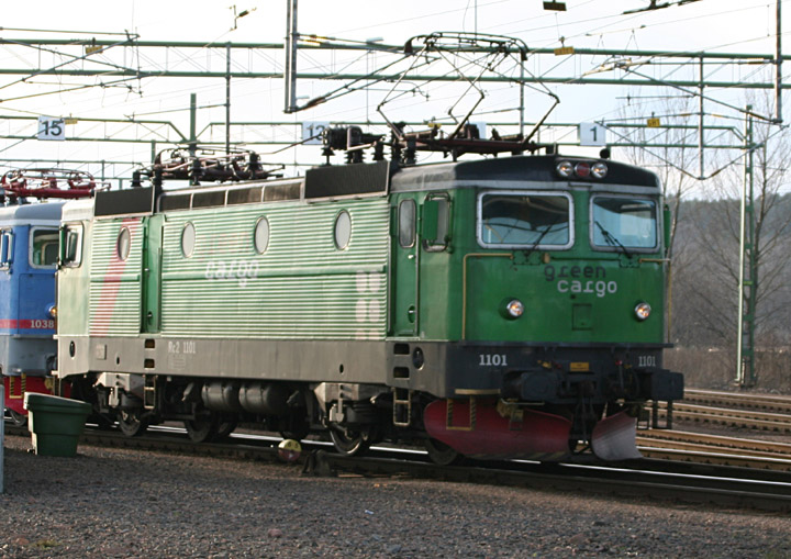 Green Cargo Rc2 Bo-Bo electric locomotive