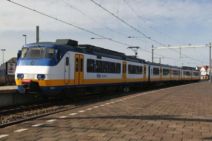 Dutch Railways Sprinter at Hoek van Holland