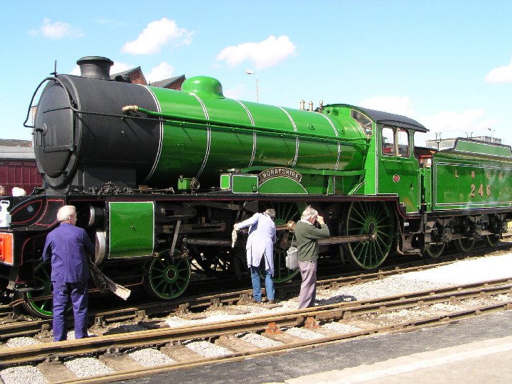 D49 246 Morayshire at Doncaster in 2003