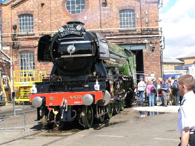 4472 Flying Scotsman at Doncaster