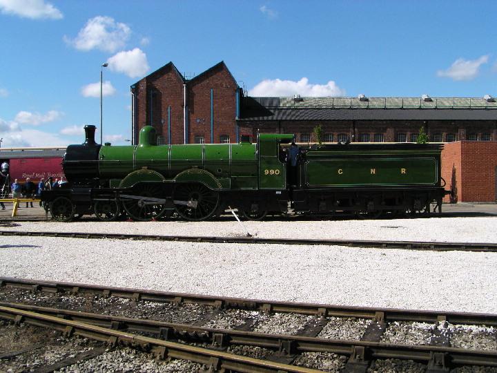 990 Henry Oakley at Doncaster