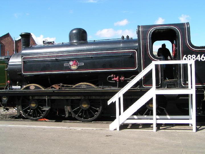 GNR J52 68846 at Doncaster