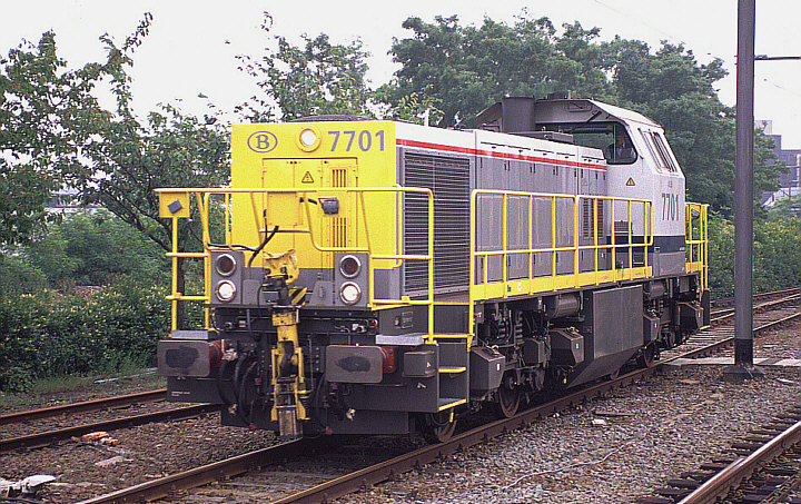 SNCB/NMBS 7701