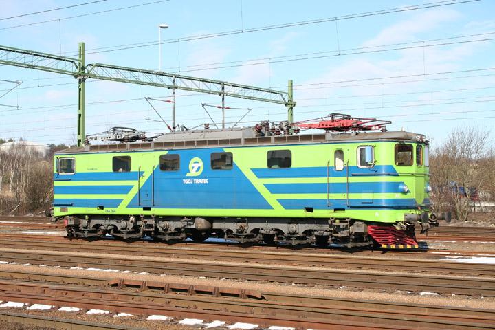 TGOJ MA Class electric freight locomotive MA966