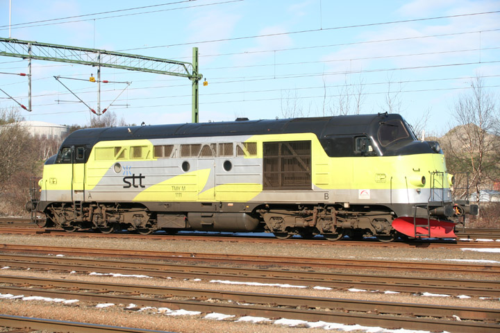 STT diesel locomotive TMY M 1111