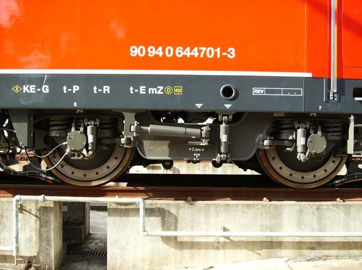 Siemens Locomotive Portugese Railways