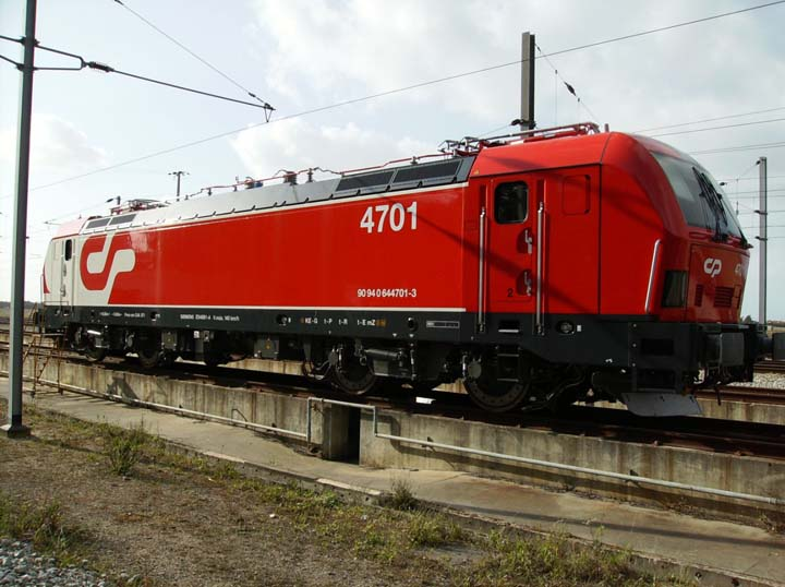 Photo of Siemens LE 4700 of Portugese Railways