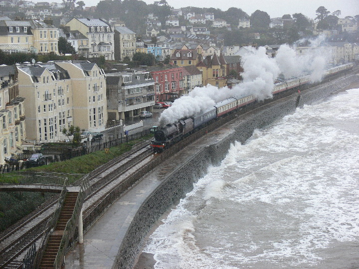 LMS 6201 Princess Elizabeth at Dawlish