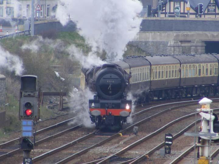6201 The Princess Elizabeth Holyhead station