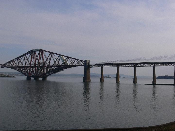 60009 on the Forth Bridge